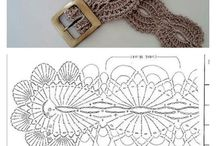 crocheted belts