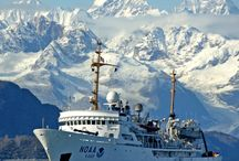 Navigating Our Waters / This Pinterest board shares work performed on NOAA #ships to support safe and efficient navigation.