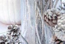 winter wonderland decor / by Sharon van Edema