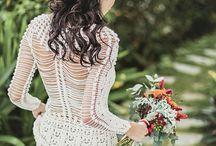 Вязанные платья
