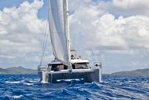 COOL YACHTS / Options for fabulous vacations / by Sue Gearan