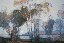 Akvarel: Sydney Long