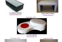 Coffee Tables / Décor Rental Tables