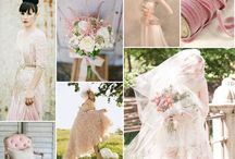 Dusty Rose & Gray Wedding