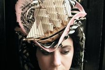 Hats...Sculptural / This is a resource for milliners where the overriding feature of the hat is it's sculptural quality.