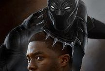 T'CHALLA-BLACK PANTHER- / The greatest Avenger ever. And don't try to tell me any different.