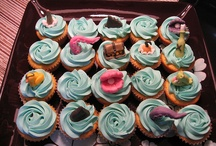 Pirate and sea themed cupcakes