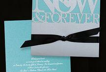- Tiffany Blue and Black Classic Wedding -