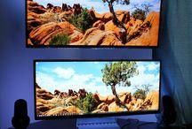 ultra wide monitor setups