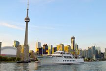 Toronto Harbour Skylines / From sunrise to sunset and beyond - the beauty and moods of Toronto's skyline as seen from the harbour can take your breath away.