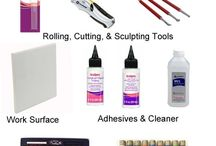 Polymer clay supplies