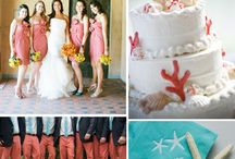 Coral and Teal Wedding Inspriation