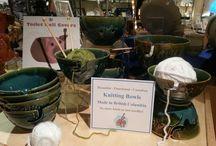 Canadian Made Knitting Bowls