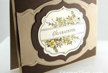 Stampin up Apothecary Art / Examples of projects using the stampset from Stampin up