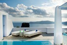 Exterior design Greek island
