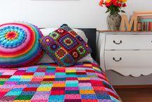 Häkeln - Kissen und Decken