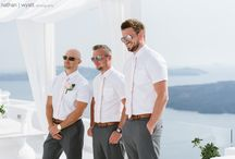 Taryn and Kristian's gorgeous Dana Villas wedding in Santorini / stunning shots taken from Taryn and Kristian's wedding day in Santorini. The couple married on the 9th of May 2016 at Dana Vilas followed by a reception at Sunset View Terrace. If you haven't already, read all about their wedding day here - http://www.thebridalconsultants.com/real-santorini-wedding-taryn-kristian-2016/