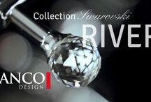 SANCO DESIGN MOVIES / SANCO Design luxury bathroom accessories modern fashion gold crystals swarovski retro classic bathroom idea beuty europe