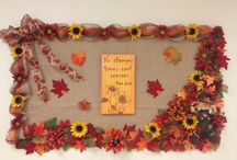 Bulletin Board Goodies / School and church bulletin board inspiration, examples and resources