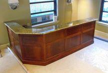 Legal Reception Desk