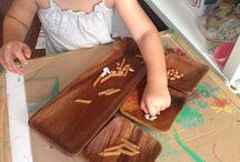 Montessori ideas para 2 años / Cositas que ir haciendo con V en su etapa de los 2 años, inspiradas en el método montessori