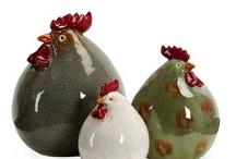ceramica -animali / oggetti in ceramica con animali