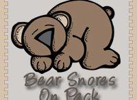 hiberbation-bears theme-preschool / by Cari Shalla