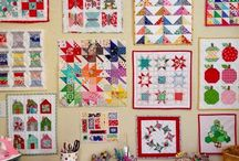 Sewing room /wall