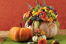 Fall Inspiration and Decor / All things for Autumn.