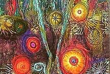 garden textile art