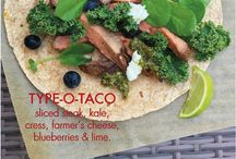 BTD TACO PARTY! / Tacos that are good for you & right for your blood type!  #tacos #fiesta #party #healthy #goodfood #nourish #eatright4yourtype #bloodtypediet #drpeterdadamo  / by D'Adamo Personalized Nutrition: the blood type diet