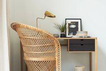 Arbeitszimmer // Home Office // Work Space / Inspiration rund um einen schönen kreativen Arbeitsplatz, Einrichtung, Deko Ideen für das Home Office // Interior and Living Inspiration for a creative work space