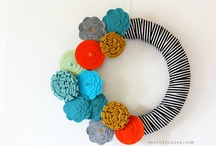 Spring Wreaths / by Sarah Gill @ Alderberry Hill