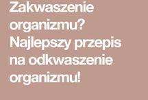 Zakwaszenie i odkwaszenie organizmu:)