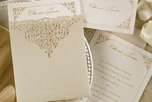 Lace or Laser Wedding Invitations