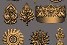 ornamente 3D