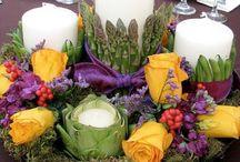 flower centrepiece f