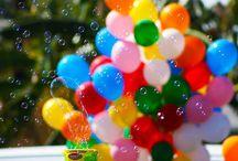 globos &  burbujas <3