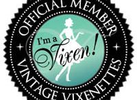 Vixenettes / Who's A Vintage Vixen? You are! And you can celebrate your vintage style with us. Become a Vixenette!