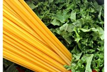 Kale-licious Pasta / This superfood is a great source of vitamin C, A, Alpha-linoleic acid, calcium, iron and phytonutrients. Here's a collection of recipes celebrating all things kale.