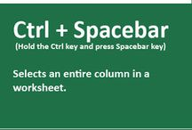 Excel shortcut