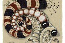 Zentangle (Renaissance tiles)