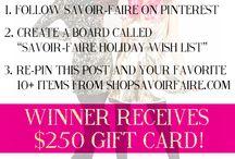 Savoir-Faire Holiday Wish List / by Megan