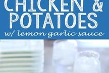 potato chiken with lemon