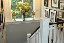 Stairwell decor ideas