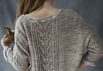 Knitted sweaters/jackets