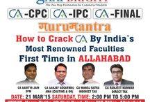 Allahabad Seminar / GURUMANTRA-Golden Rules to Crack CA by CA Sanjay Aggarwal & CA Manoj Batra at Allahabad/GaapBright..