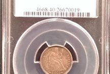 Seated Liberty Dimes / Inventory and prices subject to change. Call (920) 432-5950 for current stock.