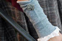 Fabric arm warmers