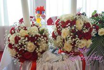 Aranjamente florale / Aranjamente florale, buchete, ornare lumanari, aranjamente masa de prezidiu